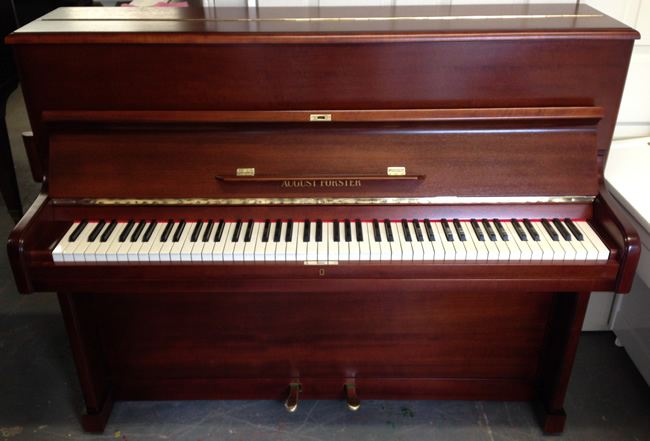 August Forster Traditional Pianos.